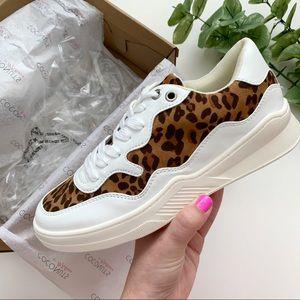 NWT Coconuts by Matisse Tan Leopard Nova Sneakers
